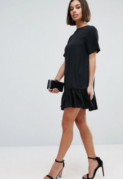 Balck Pep Dress