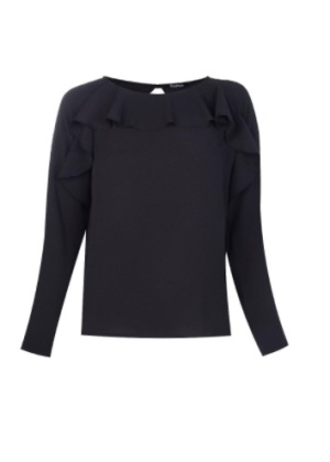 Black Ruf Blouse